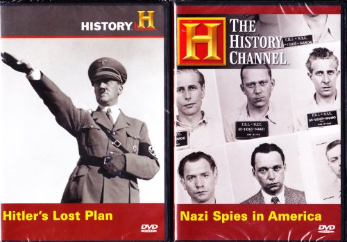Nazi Spies in America , Hitler's Lost Plan for World Conquest Including an Invasion of America : The History Channel Nazi Germany Attacking America 2 Pack