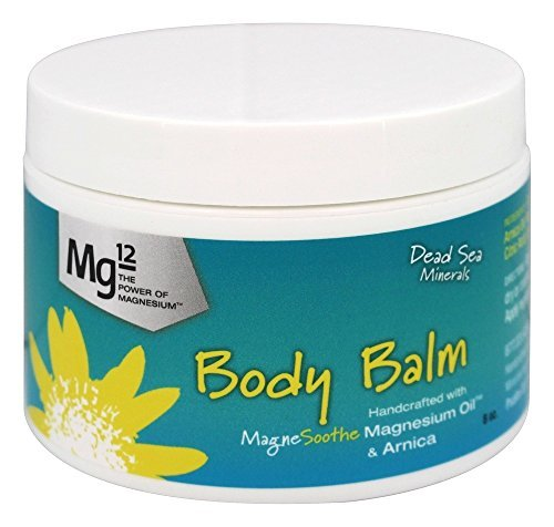 Mg12 8oz Body Balm with Magnesium Oil and Arnica