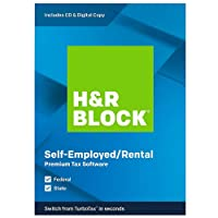 H&R BLOCK Tax Software Premium 2019 CD for PC Deals