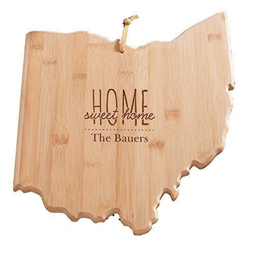 personalized home sweet ohio