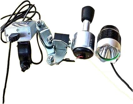 Timstore Juego de luces dinamométricas de bicicleta con luces ...