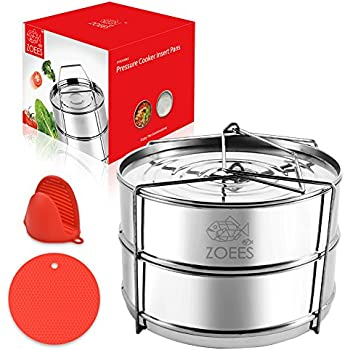 Amazon Com Ekovana Stackable Stainless Steel Pressure