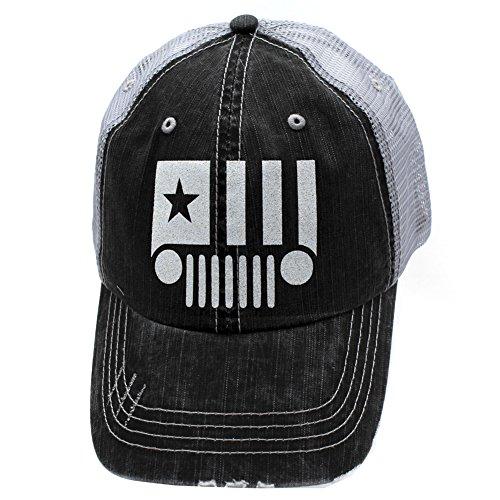 Jeep Glittering Trucker Style Hat