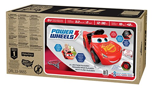 51sWcZIKXDL - Power Wheels Lil Lightning McQueen