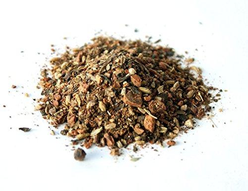 Blue lotus chai tea