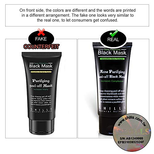 SHILLS Blackhead, Wrinkles, Anti Acne Black Mask. Removes blemishes- Purifyies, Cleanses Skin. Activated Charcoal (50 ml) (Best Facebook Status To Get The Most Likes)