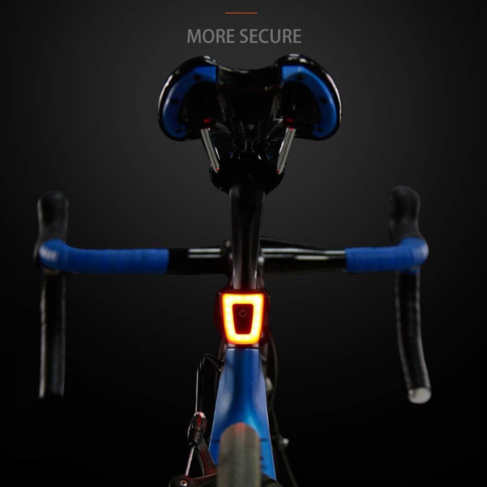 HEITIGN Luces Indicadoras De Bicicleta Detecci/ón De Luz Detecci/ón De Frenos Luz Trasera De Bicicleta Inteligente Ultra Brillante Luces Traseras Recargables Luz Indicadora Impermeable De Bicicleta