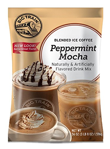 Big Train Blended Ice Coffee, Peppermint Mocha, 3.5 Pound