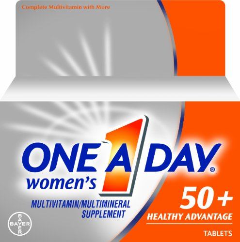 One A Day Men's 50+ Advantage Multivitamins