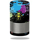 MightySkins Skin for Amazon Echo (2nd Gen) - Splatter | Protective, Durable, and Unique Vinyl Decal wrap Cover | Easy to Apply, Remove, and Change Styles | Made in The USA
