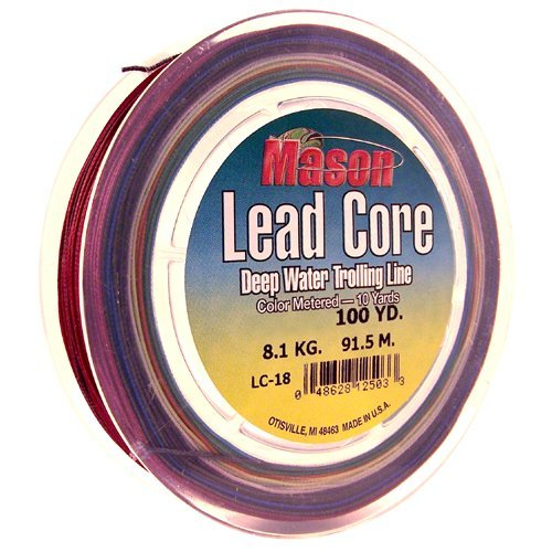 MASON 18# 200YD 20 Colors LEADCORE DEEP Water TROLLING LINE