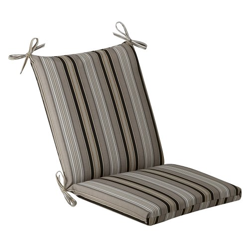 Pillow Perfect Outdoor Striped Cushion