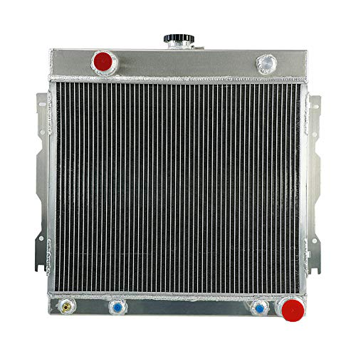OzCoolingParts 3 Row Core Aluminum Radiator for 1970-1979 71 78 Dodge D100/150 B100/200/Challenger/Charger/Coronet/Ramcharger/Van Truck Pickup, Plymouth Barracuda/Satellite/Trailaduster and More V8