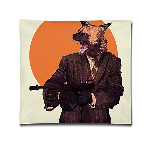 Phyllis Walker Pillow Shams Fashion Hipster Animals Square Throw Pillow Case Cotton Decorative Pillowcase Cushion Cover For Sofa Bedroom 18