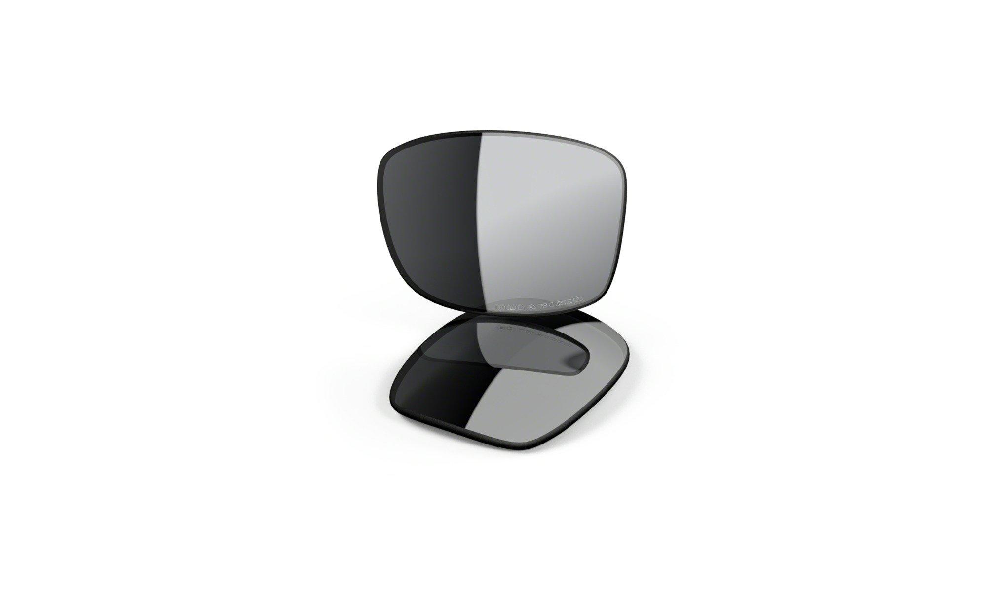 Oakley Mens Jupiter Squared Replacement Lens, Black Iridium Polarized, One Size