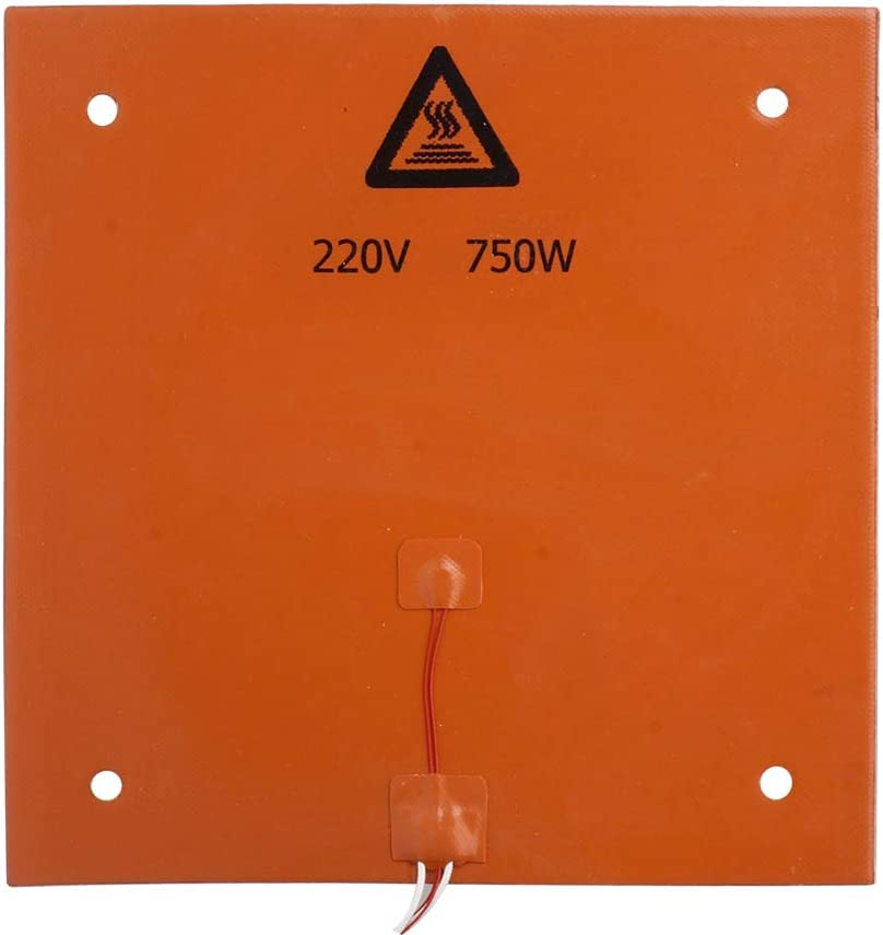 KESOTO 750W 220V 3D Printer Heat Bed Silicone Heater Hot Bed 310 x 310 x 3mm