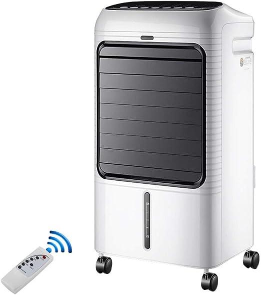 HIZH Aire Acondicionado Ventilador, Vertical 3 Velocidad Humidificador Portátil Purificador De Control Remoto De Aire Más Frío, Blanco, 37X30X73Cm: Amazon.es: Hogar