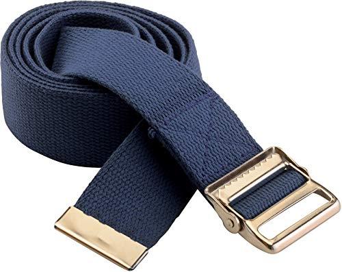 (NOVA Gait Belt, Transfer Belt with Adjustable Locking Metal Buckle, 52 & 72 Inch Length Options)