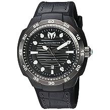 Technomarine Men's TM-515009 Sun Reef Analog Display Swiss Quartz Black Watch by TechnoMarine
