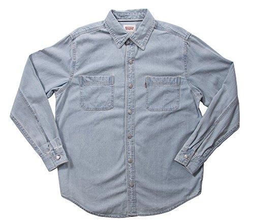 Levi's Classic Denim Workshirt - New Age Bleached, Medium