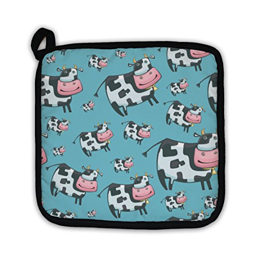 Gear New Cute Friendly Cow Pattern Pot - Womens Throw Express Gear