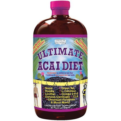 Only Natural Ultimate Acai Diet 32 Fz