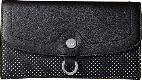 Lodis Sunset Boulevard Luna Clutch Wallet, black