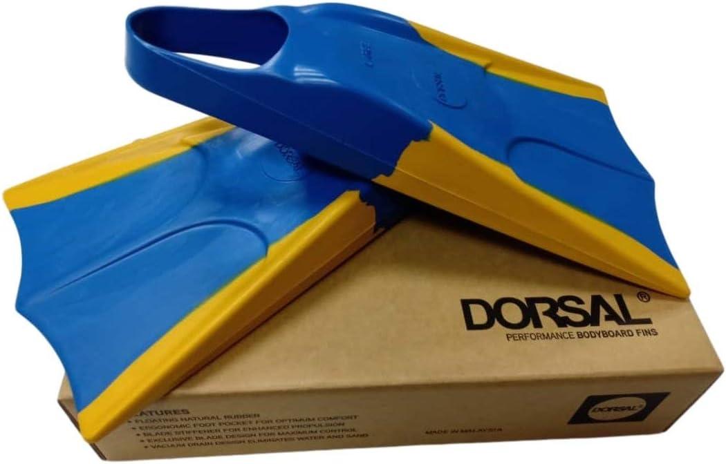 MD 8-9.5 Flippers Dorsal Bodyboard Swimfins