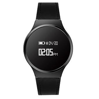 Hombre Casual Moda Inteligente Watch, Podómetro Ritmo cardíaco y ...