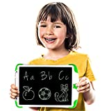 Simicore 8.5 inch Smart LCD Writing Tablet - Gift for Kids Writing Tablet Doodle Drawing Board with Erase Button and Screen Lock (Green)