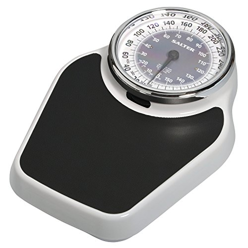 Scale Dial Platform - Salter Professional Analog Mechanical Dial Bathroom Scale, 400 Lb. Capacity