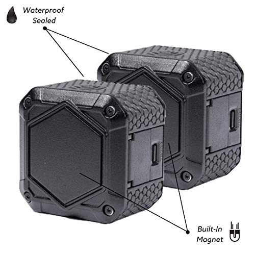 Lume Cube AIR - LED Light for Photo, Video, and Content Creation - Portable, Durable, Waterproof (Two Pack) by LUME CUBE (Image #1)