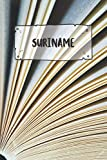 Suriname: Ruled Travel Diary Notebook or Journey  Journal - Lined Trip Pocketbook for Men and Women with Lines