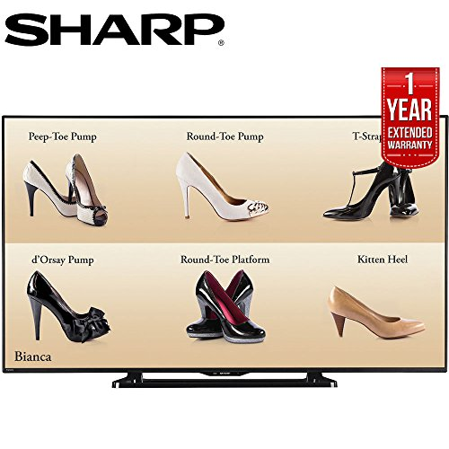 "Sharp 60"" Full HD Commercial LCD-LED TV  with 1 Year Extende"