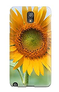 Jim Shaw Graff's Shop Best Galaxy Note 3 Case Cover - Slim Fit Tpu Protector Shock Absorbent Case (single Sun Flower) 1783572K69370354