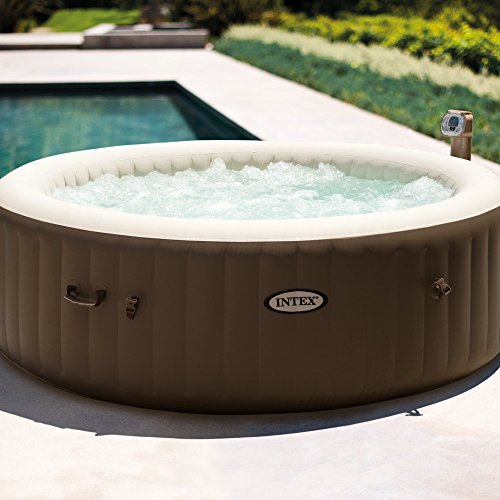 Intex PureSpa 6-Person Portable Inflatable Bubble Jet Hot Tub ()