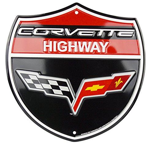 Corvette Shield Sign
