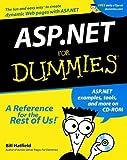 ASP. NET for Dummies®, Bill Hatfield, 0764508660