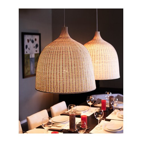 Ikea leran suspension rotin 60 cm amazon fr cuisine maison