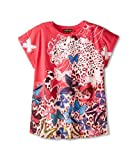Roberto Cavalli Kids Girl's Short Sleeve Butterfly Tee (Little Kids/Big Kids) Multi 8 Years (Big Kids)