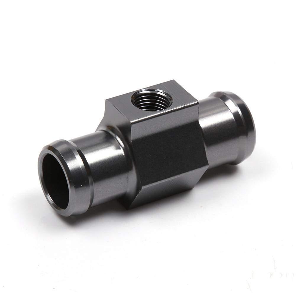 Easy-topbuy Joint Pipe Adaptador de Sensor de Temperatura de Agua General Aleaci/ón de Aluminio Accesorios de motos18 mm//22mm