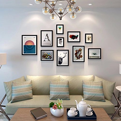 YZXK European Photo Wall Frame Creative Living Room Picture Wall Combination Modern Minimalist Decoration Photo Wall by YZXK