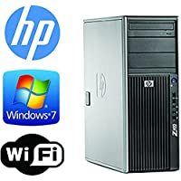 HP Z400 Workstation - Quad Xeon 2.4GHz - *NEW* 2TB 7200RPM HDD - 6GB RAM - WIFI - Quad Monitor Output- DVD/CD-RW - Windows 7 Pro 64- Refurbished