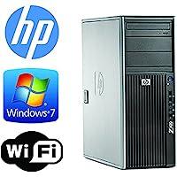HP Z400 Workstation - Quad Xeon 2.4GHz - *NEW* 2TB 7200RPM HDD - 6GB RAM - WIFI - Quad Monitor Output- DVD/CD-RW - Windows 7 Pro 64- Refurbished