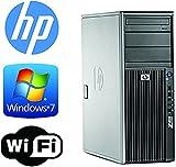 xeon quad - HP Z400 Workstation - Quad Xeon 2.4GHz - 2TB 7200RPM HDD - 6GB RAM - WIFI - Quad Monitor Output- DVD/CD-RW - Windows 7 Pro 64 (Certified Refurbished)