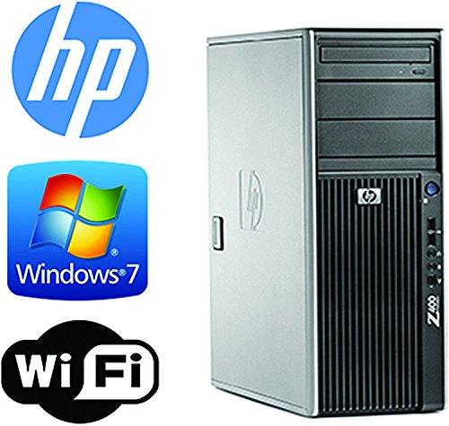 HP Z400 Workstation - Quad Xeon 2 4GHz - 2TB 7200RPM HDD - 6GB - Import It  All
