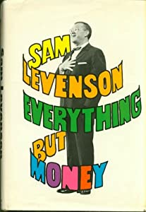 Unknown Binding EVERYTHING BUT MONEY, 1966 SEVENTH PRINTING Book