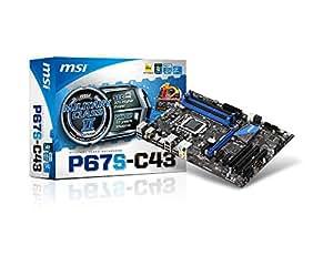 MSI  Intel P67 (B3) ATX DDR3 1066 Intel - LGA 1155 Motherboards P67S-C43 (B3)