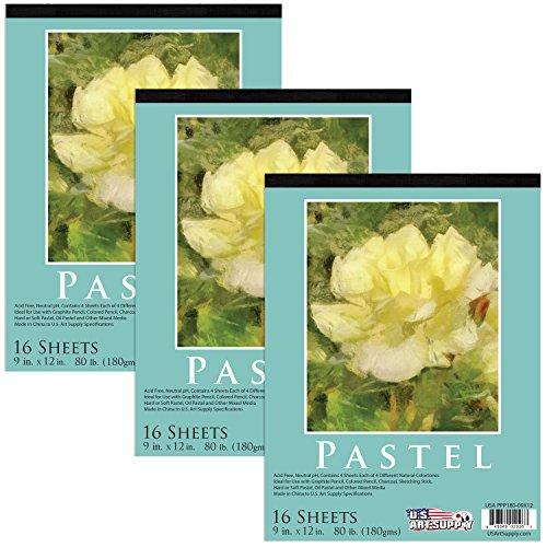 Art Supply Premium Assorted 16 Sheets