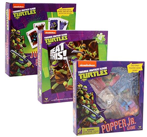 Teenege Mutant Ninja Turtles Games Bundle Pack (Ninja Turtle Pizza Playset compare prices)